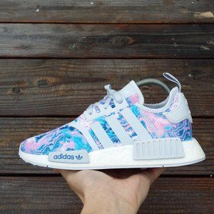 Women adidas NMD R1 Easter Boost Running Sneakers